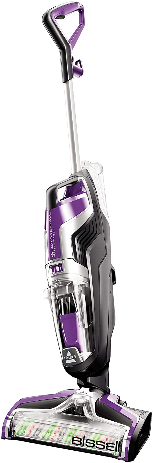 BISSELL Crosswave Pet Pro All in One Wet Dry Vacuum Cleaner and Mop