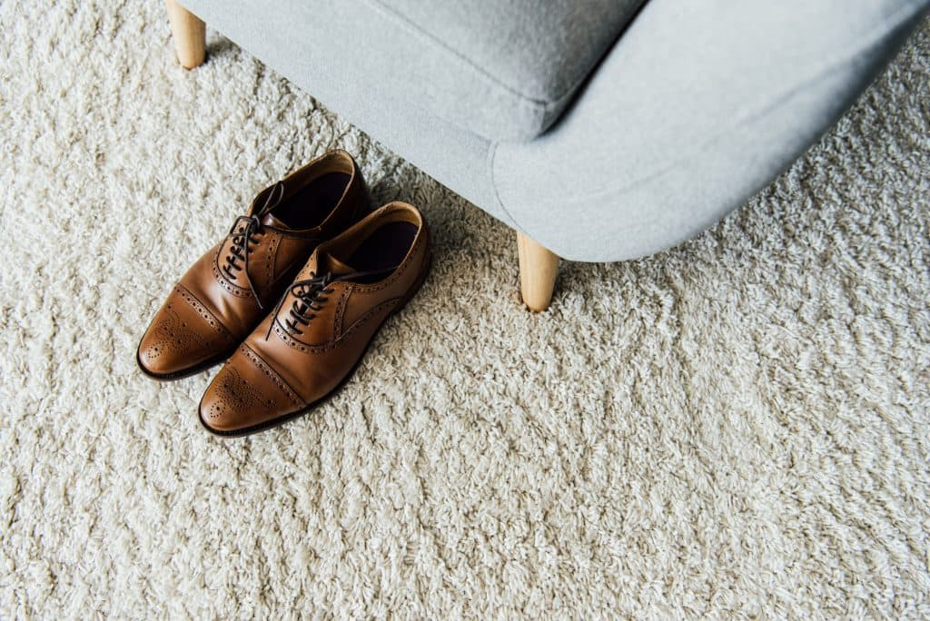 Smartstrand Carpet, Shoes on Durable Carpet