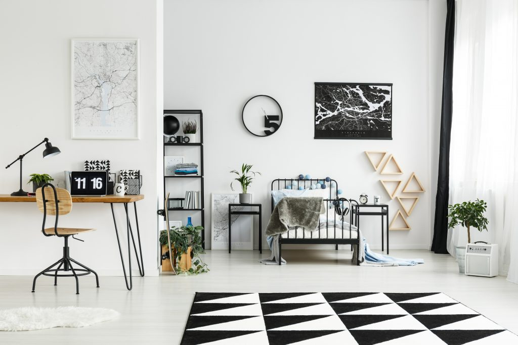 One of the best flooring for bedrooms - area rugs