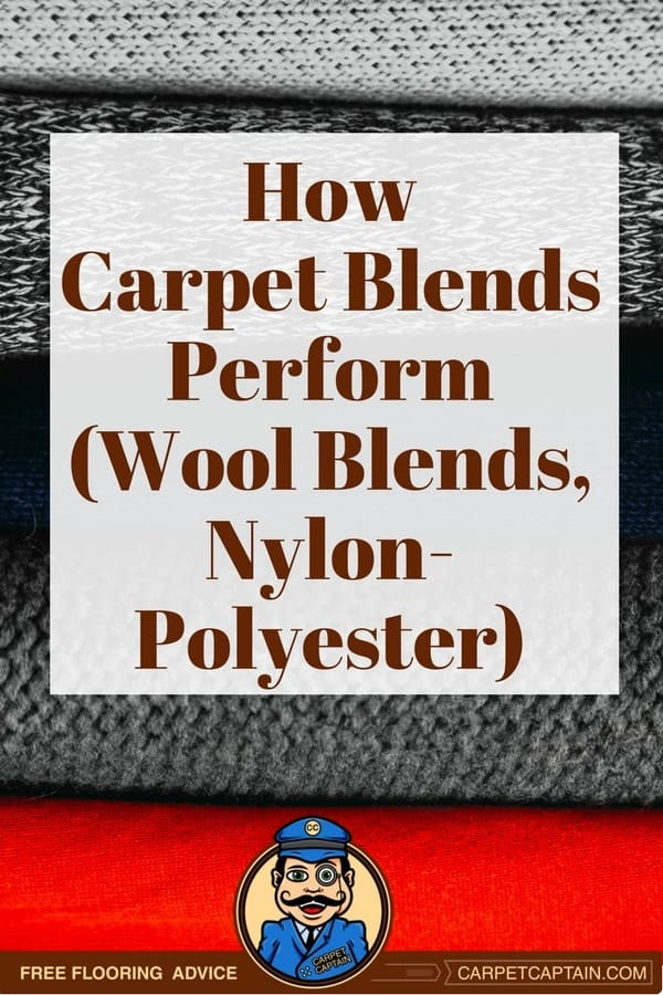 Sometimes carpet retailers throw you for a loop and offer you a mix of different carpet fibers. This makes the already complicated carpet shopping process more complicated. But it's also a chance for you to save money.  Learn how wool-nylon and nylon-polyester blends will perform in your home.
