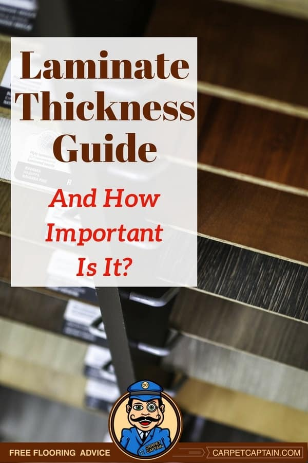 Thickness Is One Part Of The Your Laminate Ing Decision And It S A Pretty Important