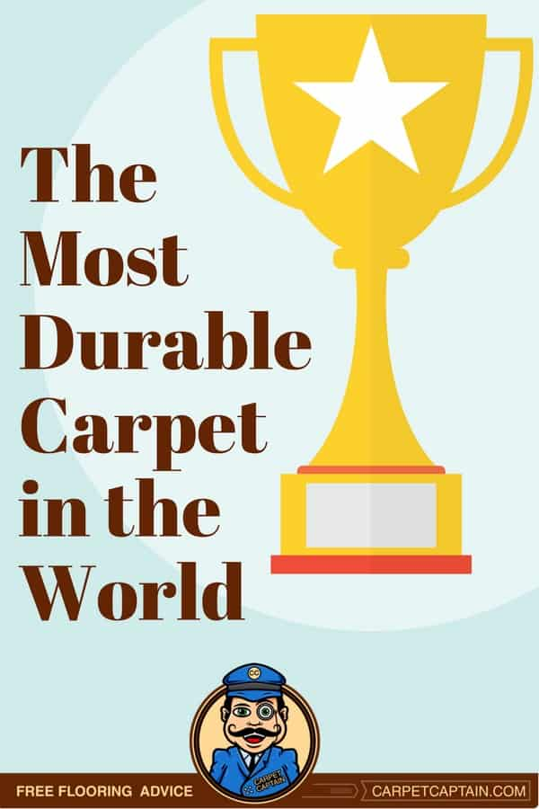 Durability your priority? Look for a marble-colored, 2500+ density, 7+ twist level, brand name nylon frieze carpet. Carpet Captain breaks down why each factor matters and the range of durability you can tolerate.