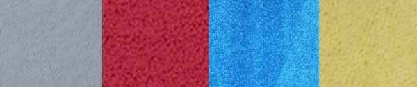Plush, velvet, saxony carpet samples